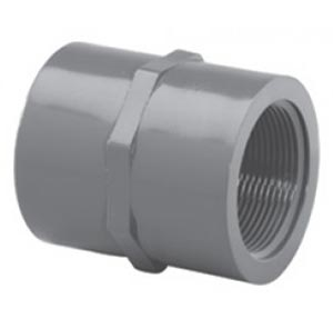 1in FNpt Schedule 80 Thread Coupler Plastic - 8.932-134.0 -  Legacy Shark