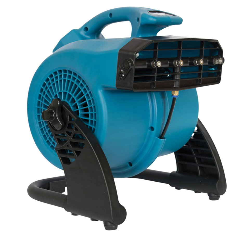 Mist Storm 600 Cfm Misting and Cooling Fan 1.2 Amp 120 Volts Pivoting Head 20200614 Freight Included