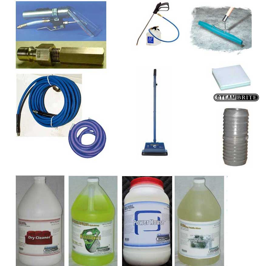 Carpet Cleaners Standard Starter Kit 2 (200 psi Plus Cleaning Machines)