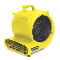 Powr-Flite: Safety Yellow Floor Fan