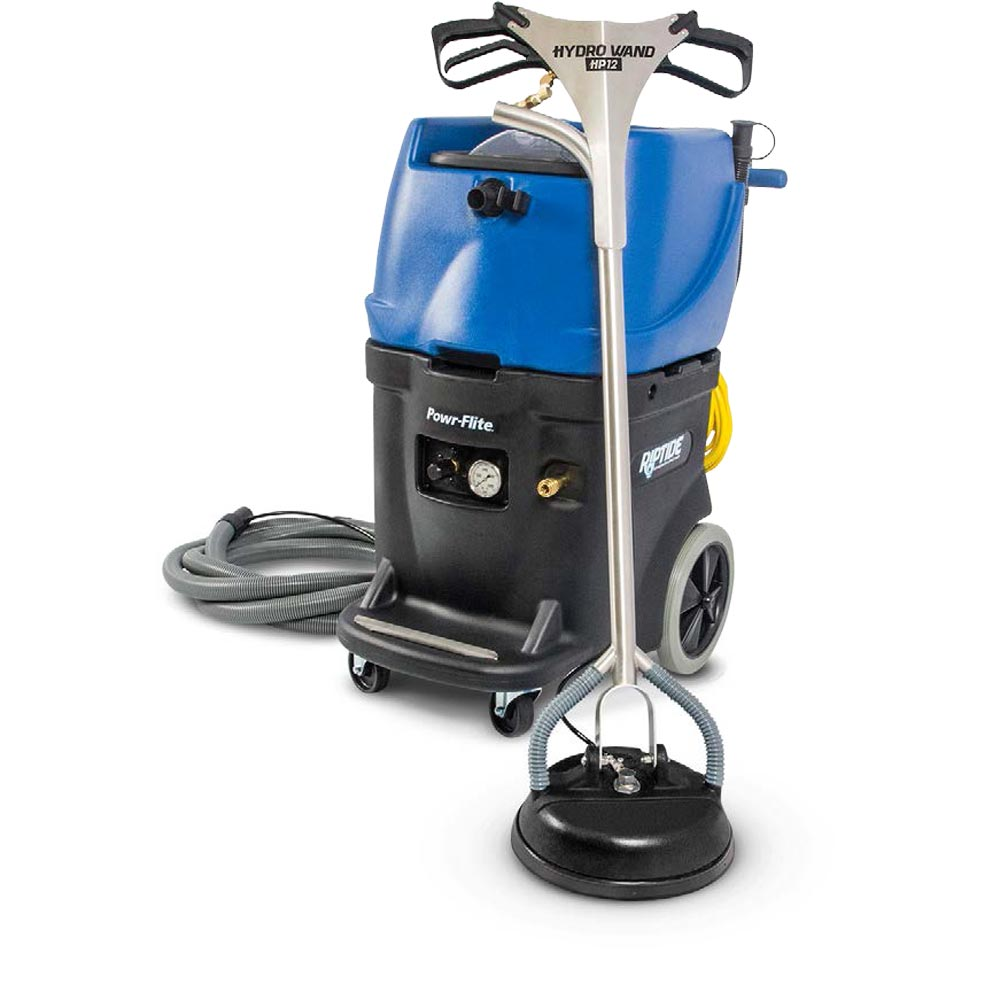 PowrFlite PF1200RT Riptide Tile Cleaning Machine 15 Gal 1200 psi Auto fill Auto Dump