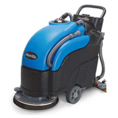 "PowrFlite PAS17BA-BC: 17"" Predator Automatic Scrubber With Battery and Charger"