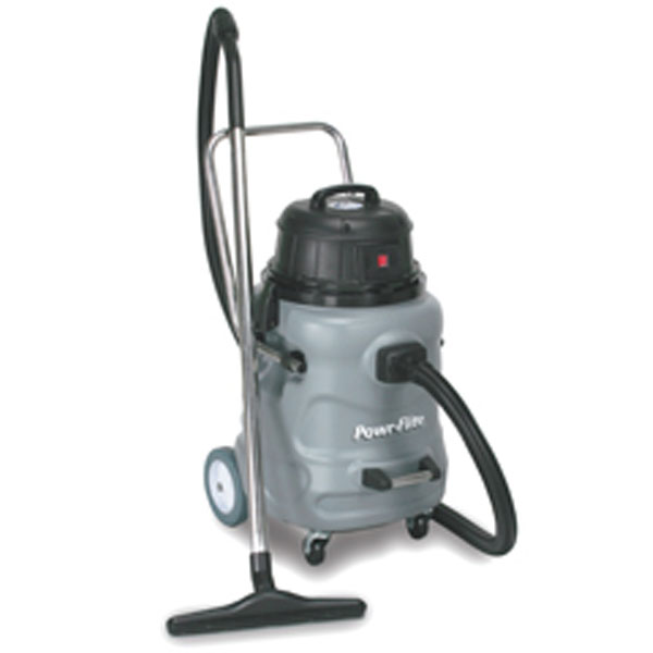 Powr-Flite 20 Gallon Wet/Dry Vacuum - 1.6hp motor - 114CFM - 100in Water Lift