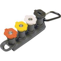 Shazaam: Pressure Washer Nozzle Set Set with belt clip