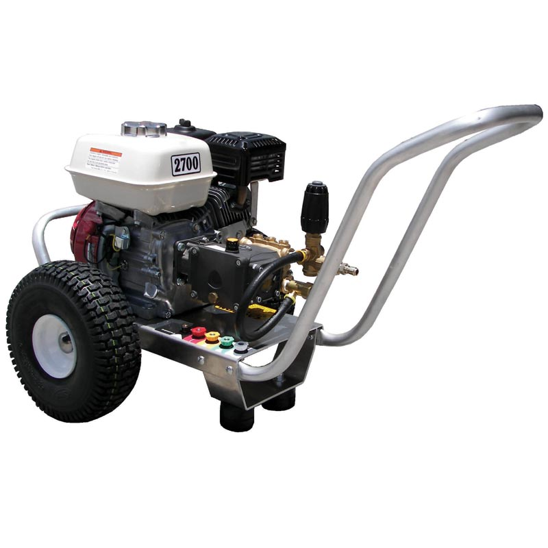 Pressure Pro E3027HA Eagle 3gpm 2700psi Gas Direct Cold Pressure Washer 6.5hp Honda AR Pump Freight Included