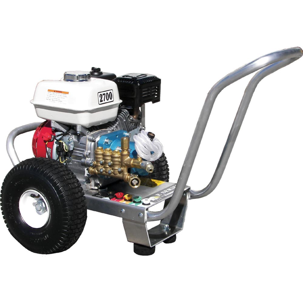 Pressure Pro E3027HC Eagle 3gpm 2700psi Gas Direct Cold Pressure Washer 6.5hp Honda Cat Pump Freight Included