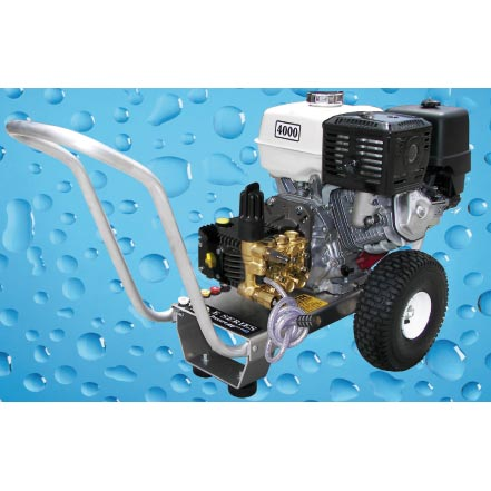 Pressure Pro E4040HGI Eagle 4gpm 4000psi Gas Direct Cold Pressure Washer 13hp Honda General Pump Freight Included