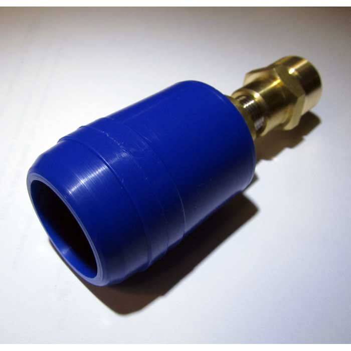 22mm Male To 1/4in Insulated Carpet And Tile Cleaning QD Adapter 20130103
