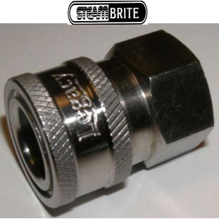 "Pressure Washer QD 1/4"" Fip X 1/4"" Female Socket Coupler Stainless Steel 87071030 2-2000SS [8.707-103.0]"