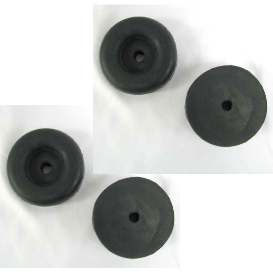 karcher 9.807-754.0 Rubber Skid Mount Feet 4 Pack