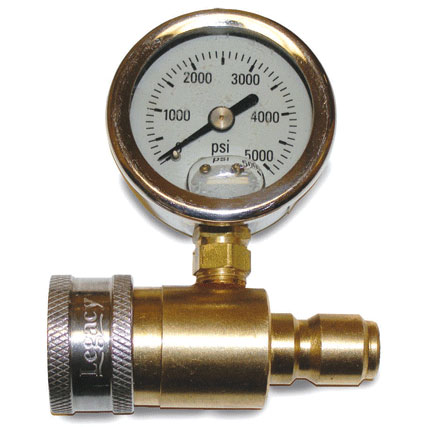 5000 psi Pressure Gauge with Pressure Washing QD Fits all NorthStar, Landa, Shark, SprayMart Pressure Washers