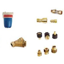 Karcher, Legacy, Shark, Pressure Washing Couplers, Fittings, and Filter Repair Parts