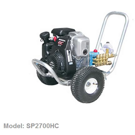 Pressure Pro SP2700HC Semi-Pro 2.5gpm 2700psi Honda GC190 Engine Cat 3DX Pump Freight Included