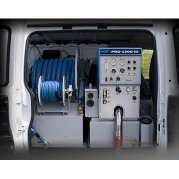 Sapphire Scientific Pro 1200 Se Clutch Drive Truckmount