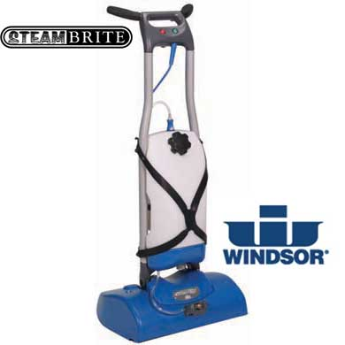 "Windsor Ind ICapsol Mini Deluxe Carpet Dry Cleaning Machine Prochem ProCap 9.840-303.0 17"" CRB With Tank and Sprayer"