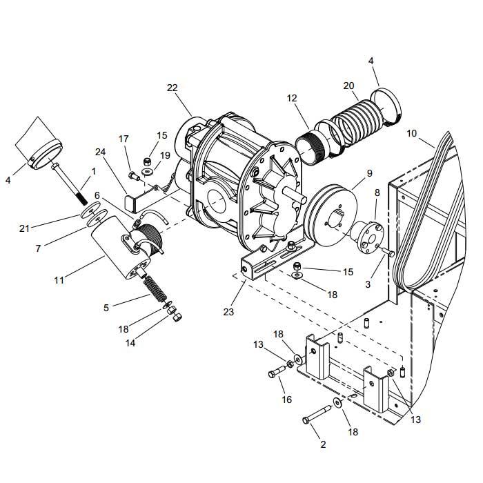 Prochem Blazer Truckmount Vacuum Relief Valve 8 618 060 0
