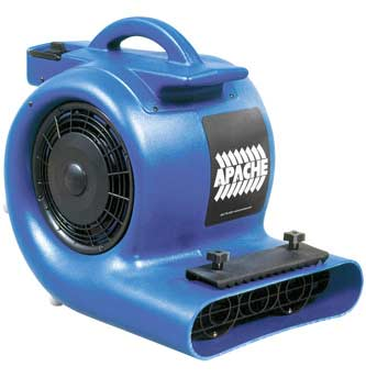 Prochem Apache 230 volt 1 HP Carpet Flood Restoration Air Mover  1.004-024.0 (International Use)