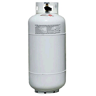 Pressure Pro Propane Tank Cylinder 40 lbs or 9.2 gallons MAN1220