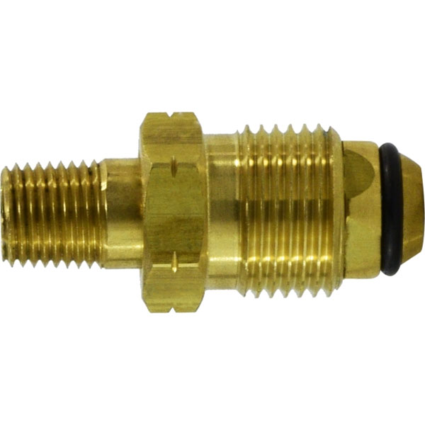 Propane Bottle Male Fitting X 1/4 in Mip Brass 34061