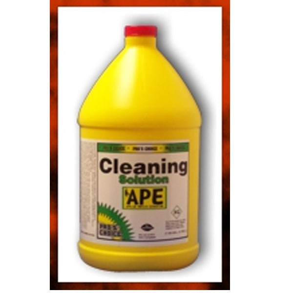 Pros Choice: APE Low Moisture Cleaning Solution (4/1 Gallon Case)