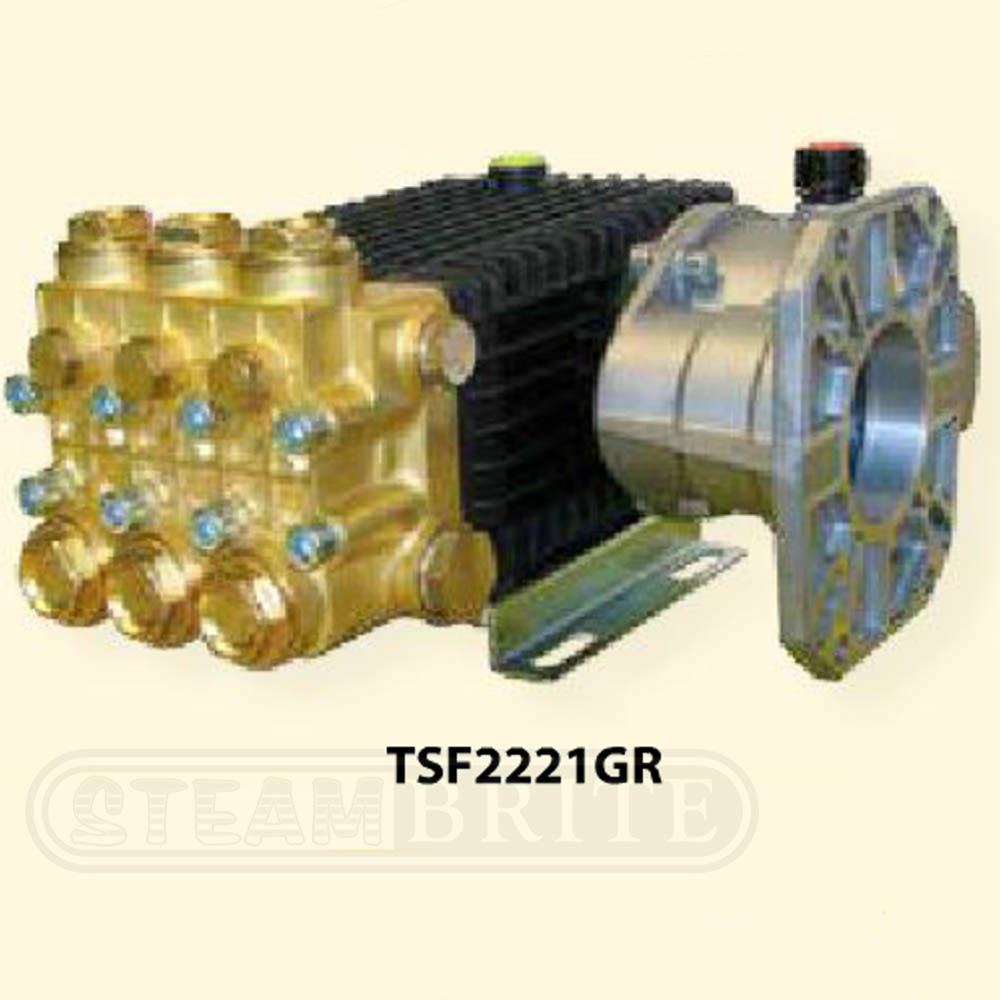 General Pump TSS1511-GR Gear Reduced Triplex Plunger Pump 3500psi 1450rpm 4gpm Freight Included