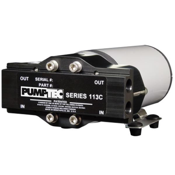 Pumptec 80832 113C-065/M70 Motor 1000psi 1/4 inch Ports 120 volts misting pump assembly [81352]