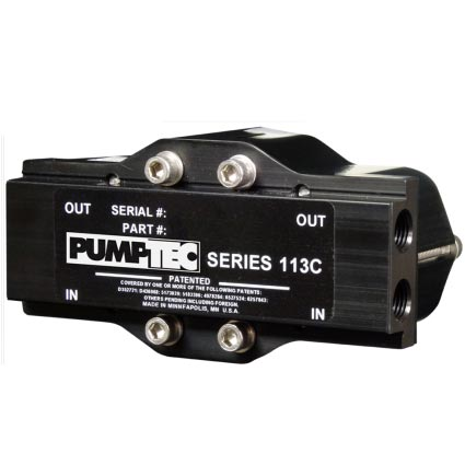 Pumptec 113C Head Only 1000psi 1/4 inch Ports 60073