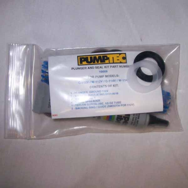 Pumptec 10003 Kit A 500 psi Plunger & Seals Kit Repairs 205V and 207V Pump Heads 512-555 AKA 10055