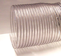 Nikro: Clear Heavy Duty PVC Flex Duct 12in X 25ft 860147