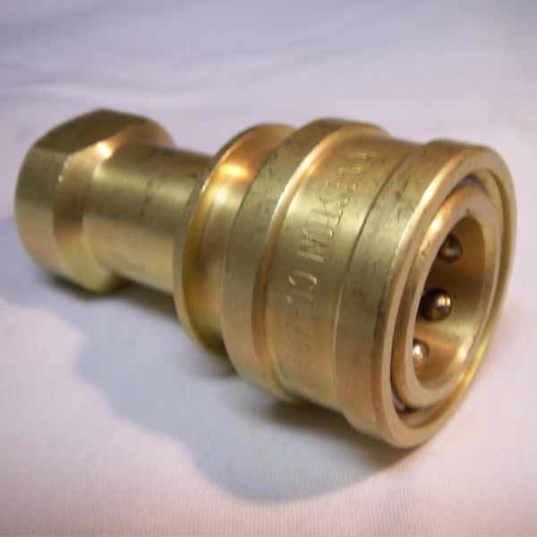 Carpet Cleaning QD85 3/8 in Female Brass Quick Disconnect Coupler Socket [38QD] 86179710 PAF02  B005  580-130