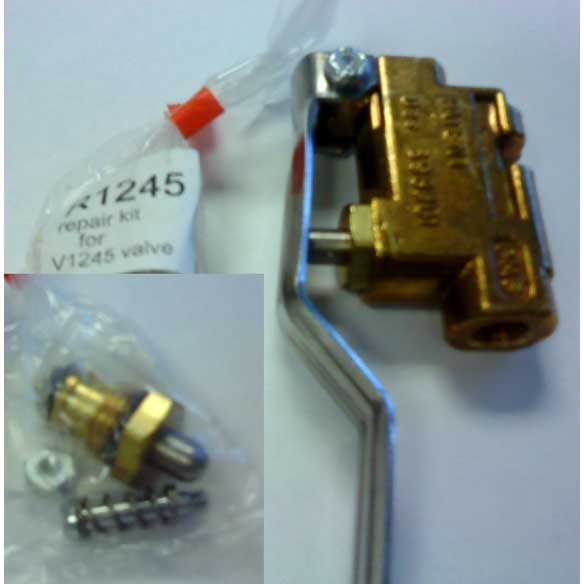 PMF R1245 Repair Kit for V1245 Aluminum and V1245B brass valves (also marketed as EXPV1243)