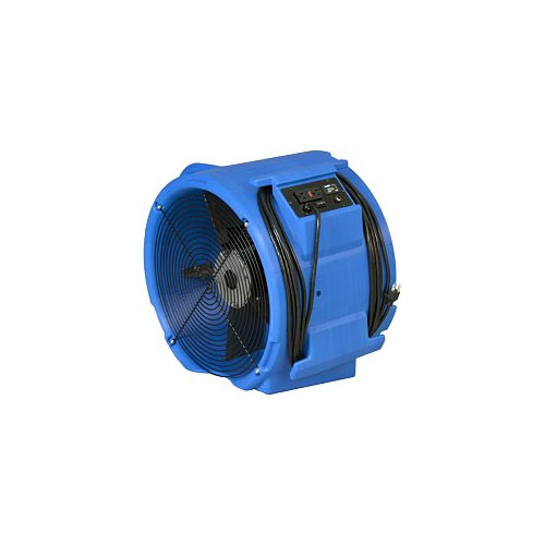 Abatement Technologies RAM3000DBL Carpet Flood Restoration Air Mover Raptor (includes GFCI receptacle, circuit breaker and hour meter)