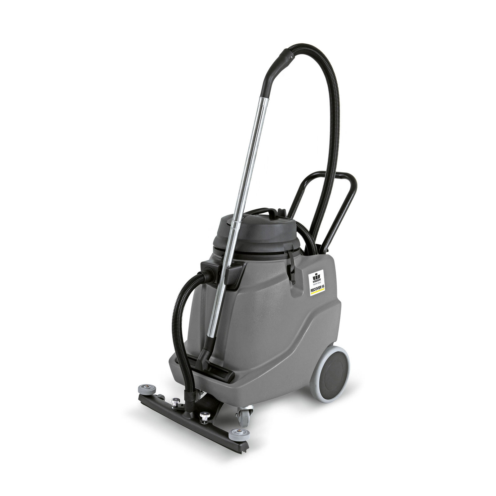 Karcher NT 68/1 Windsor Recover 18 gal Wet / Dry Vacuum 1.013-017.0 w/ with front mounted squeegee, hose and wand  1.103-494.0