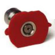 Pressure Washer Red Nozzle Ss 1/4in 10.0 X 0 Degree Q-Style - 8.708-705.0 - 259675