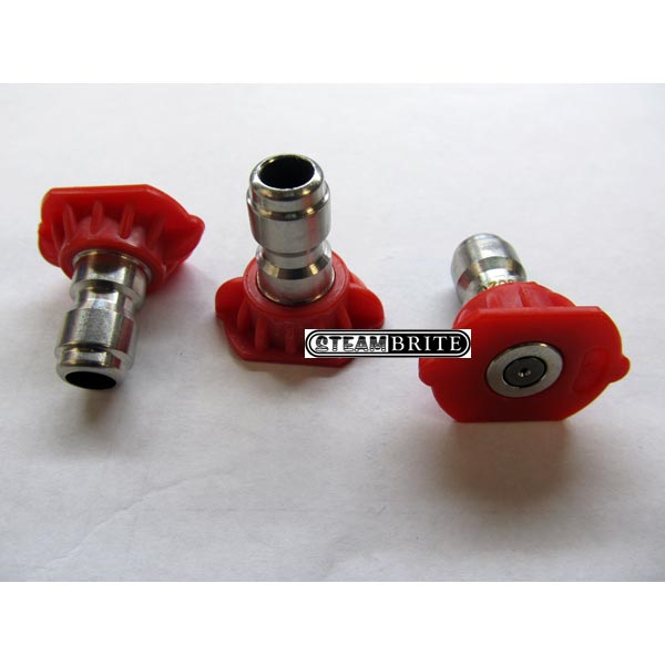 Pressure Washer Red Nozzle Ss 1/4in 8.5 X 0 Degrees Q-Style - 8.708-697.0 - 259665
