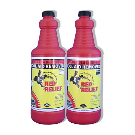 Pros Choice C3011 Red Relief Single Half Gallon Set 2 x 32oz Bottles UPC 078345002737