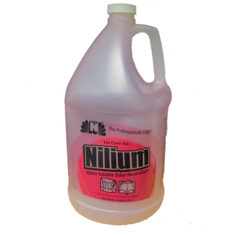 Nilodor 128 WST Nilium Red Clover Tea Water Based Deodorizer (Case of 4x Gallons)
