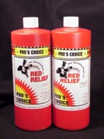 Pros Choice Red Relief Case of 8 pint sets