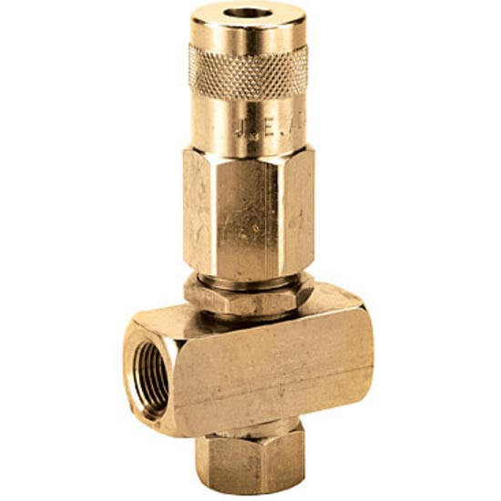 JE Adams 7085 Balanced Pressure Regulator 2000 psi Triple 3/8 Ports