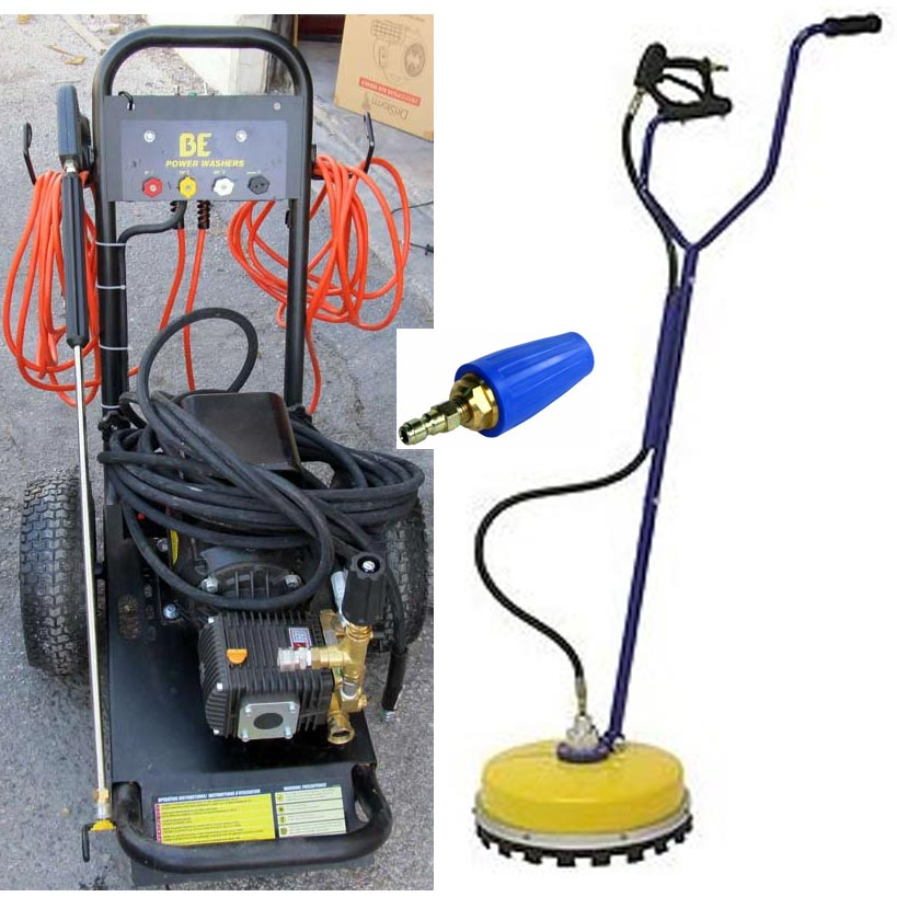 San Antonio Tx Pressure Washer Rental Package With Rotary