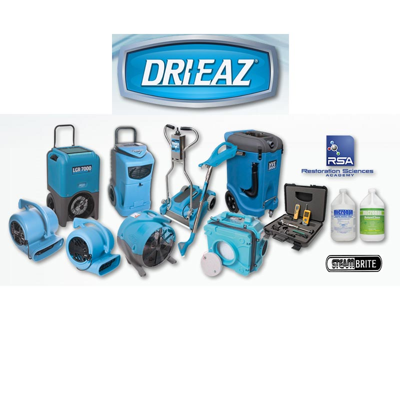 Drieaz Total Restoration Solution Package Free Shipping