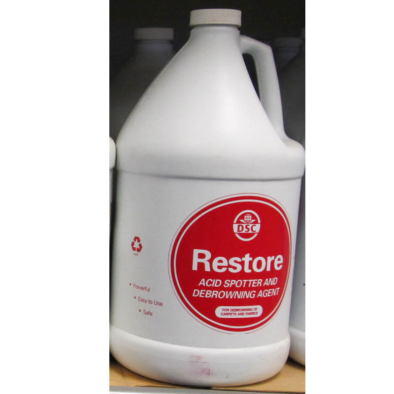 DSC Products Restore Acid Spotter and Debrowning Agent 2 Cases - 8 Gallons