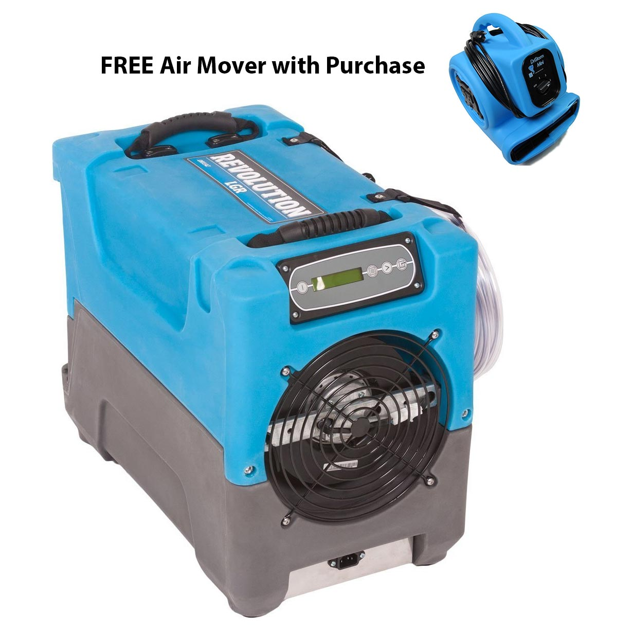 Drieaz F413 REVO Revolution LGR Compact Craw Space Industrial Dehumidifier FREE Air Mover FREE Shipping