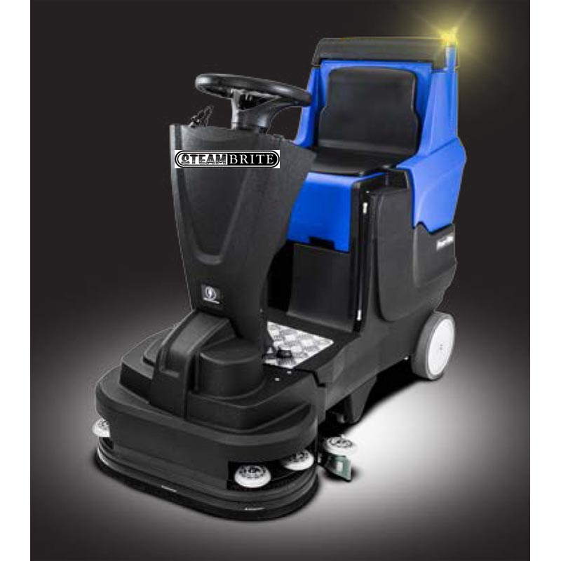 -Clean Storm Ride On Auto Scrubber 26 Inches Battery with Charger Rider 20160301 Self-Propelled