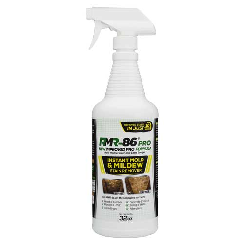RMR Brands RMR-86 Instant Mold & Mildew Remover 32oz. Spray Bottle 669393326086