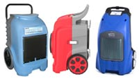 Rotomold Wheeled Dehumidifiers