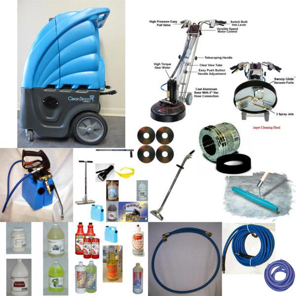Clean Storm 6.6 Vacuum and  Rotovac 360i Business Starter Package Bundle 20131020