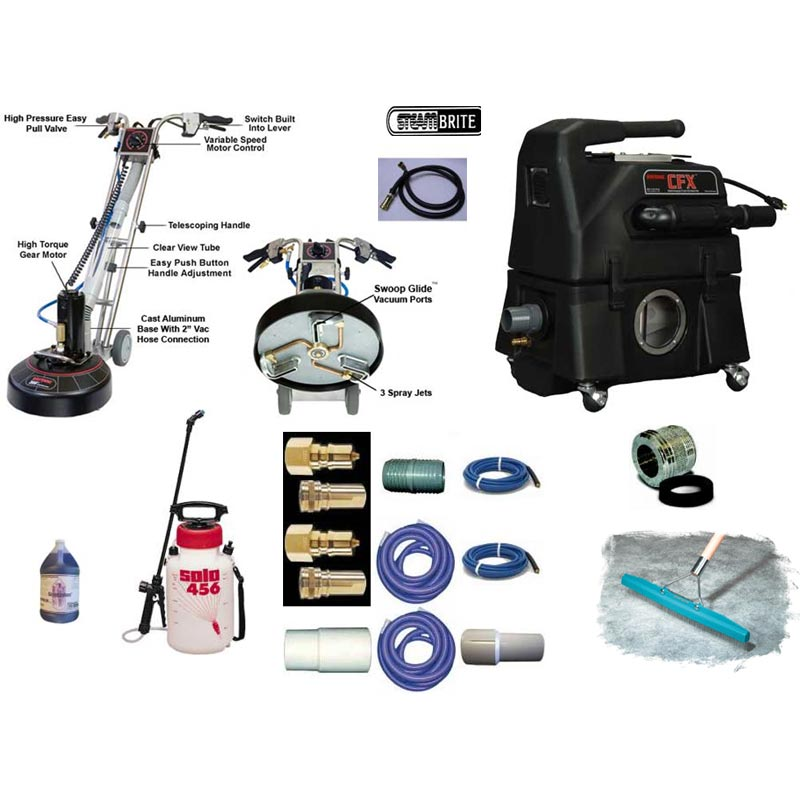 Rotovac CFX 360i High Flow Extraction Power Wand Starter Package FREE Shipping Carpet Cleaning System