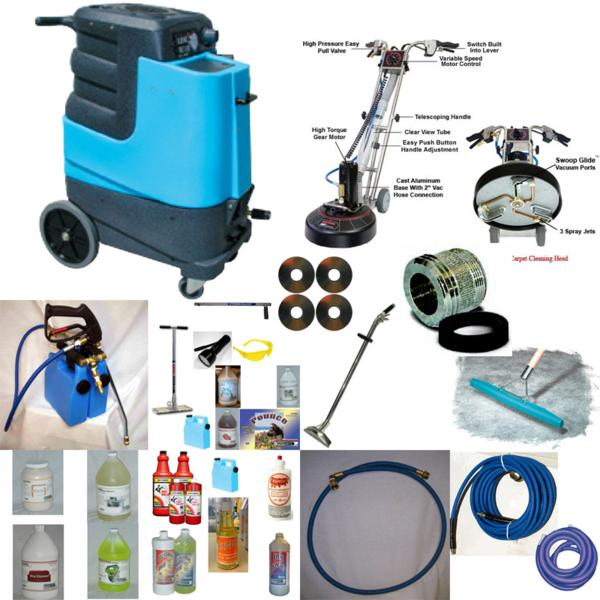 Mytee M5 Rotovac 360i Shazaam Business Starter Package M-5