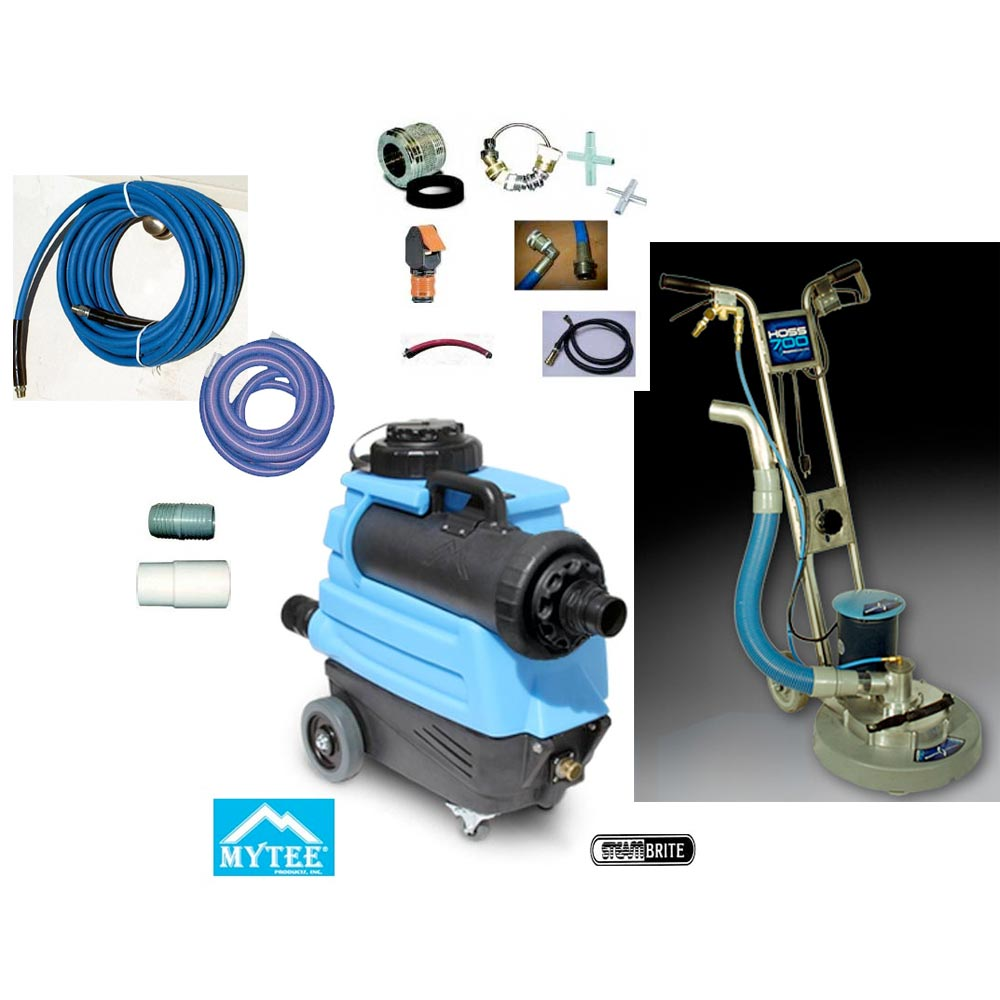 Rotary Power Wand Upgrade Kit With Auto Fill and Drain For Non Stop Cleaning Production Hoss 700 Mytee 7303  20151114
